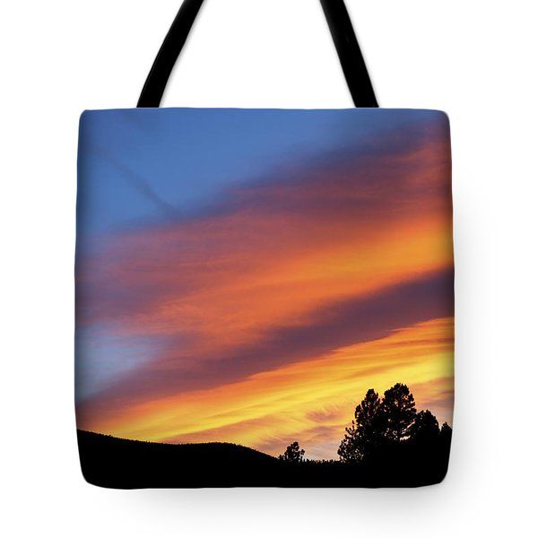 Broncos Sunset Tote Bag