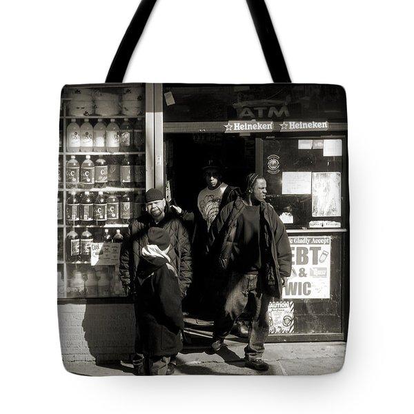 Bronx Scene Tote Bag by RicardMN Photography