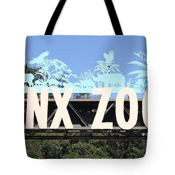 Bronx Zoo Entrance Tote Bag