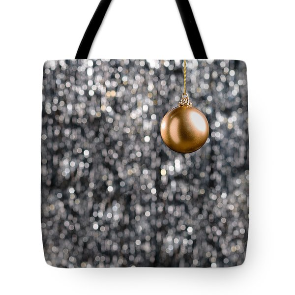 Tote Bag featuring the photograph Bronze Christmas  by Ulrich Schade