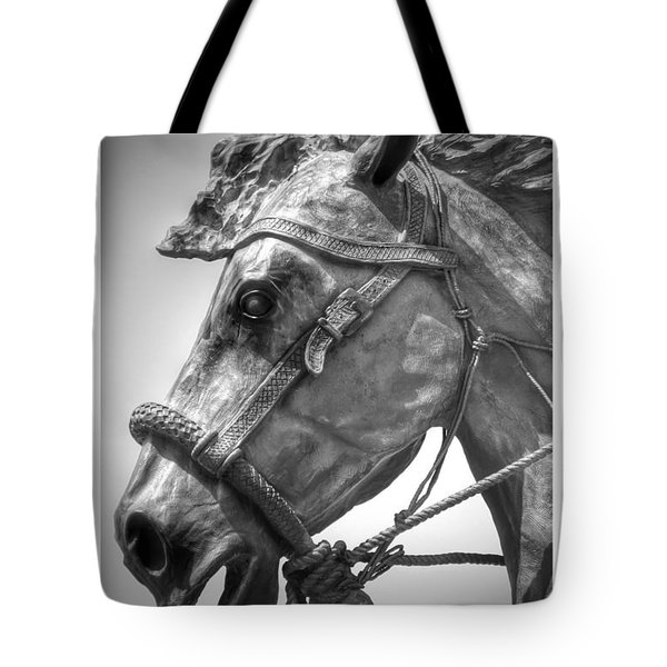 Bronze Head Tote Bag