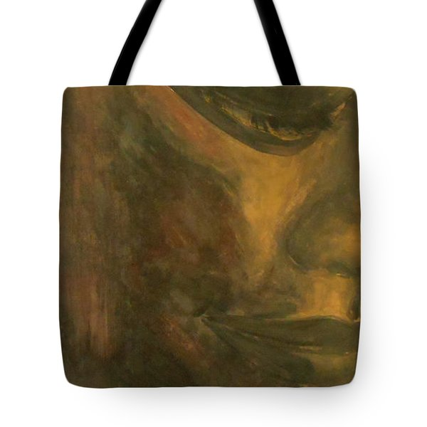 Bronze Tote Bag by Jane See