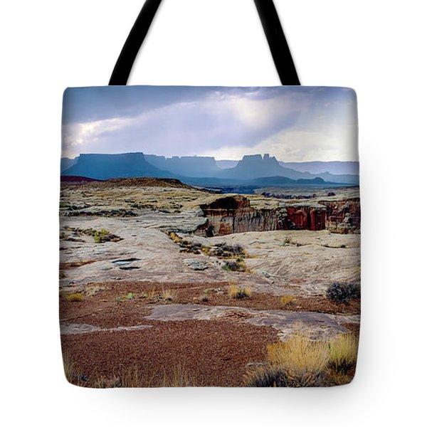 Brooding Sky Summer Storm Tote Bag