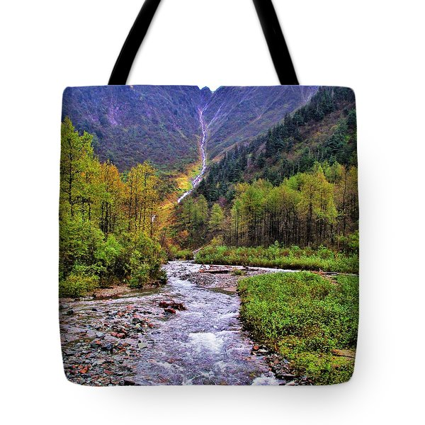 Brook Tote Bag by Martin Cline