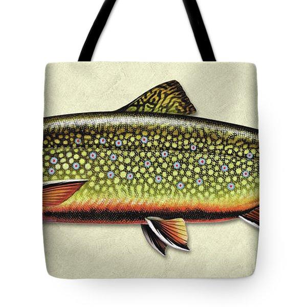 Brook Trout Id Tote Bag