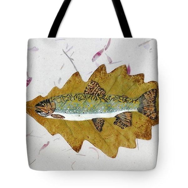 Brook Trout Tote Bag
