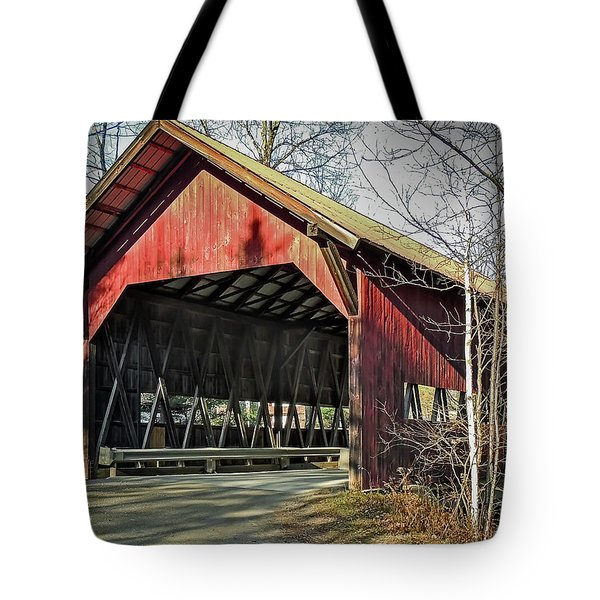 Brookdale Bridge Tote Bag
