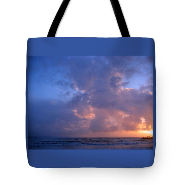 Brookings Oregon Sunset 02 Tote Bag