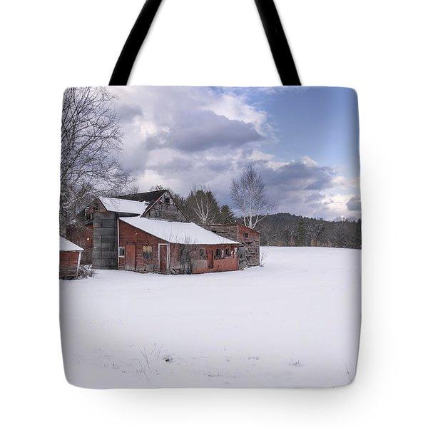 Brookline Winter Tote Bag