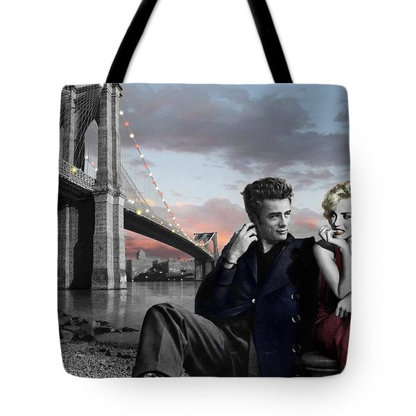 Brooklyn Bridge Tote Bag by Chris Consani