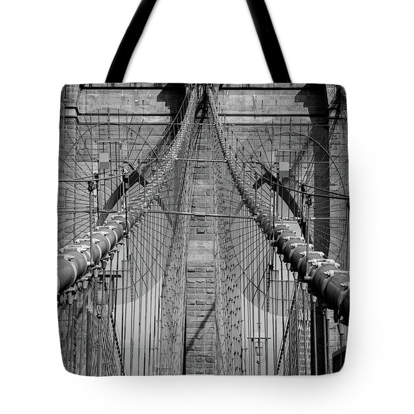Tote Bag featuring the photograph Brooklyn Bridge by Emmanuel Panagiotakis