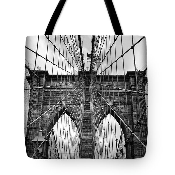 Brooklyn Bridge Mood Tote Bag