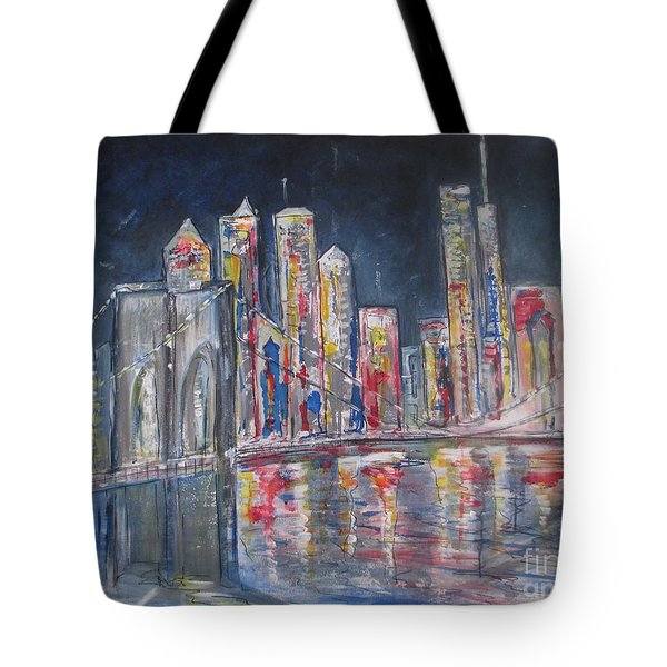 Brooklyn Bridge Ny Tote Bag