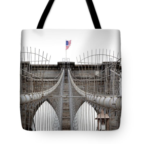 Brooklyn Bridge Top Tote Bag