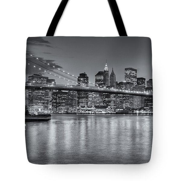 Brooklyn Bridge Twilight II Tote Bag