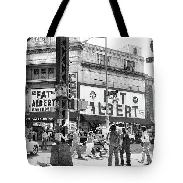 Brooklyn Fat Albert  Tote Bag