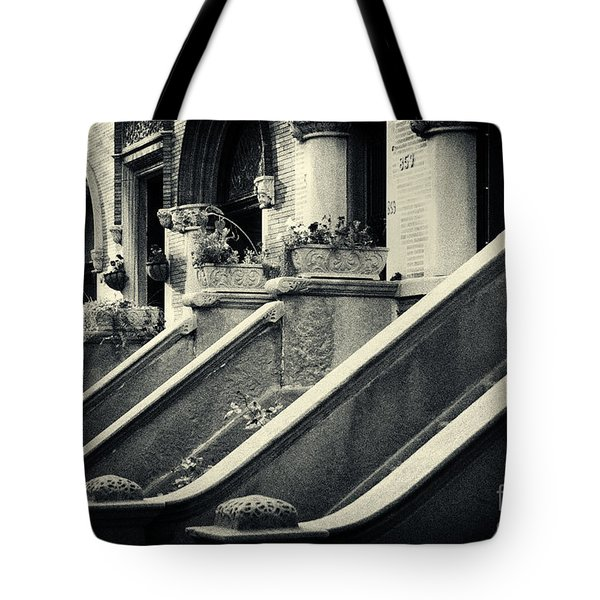 Brooklyn Park Slope Stoops Tote Bag