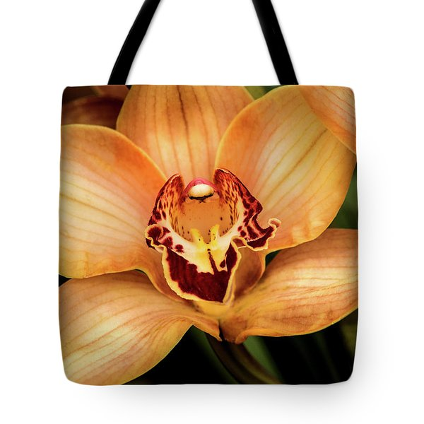 Brookside Orchid Tote Bag