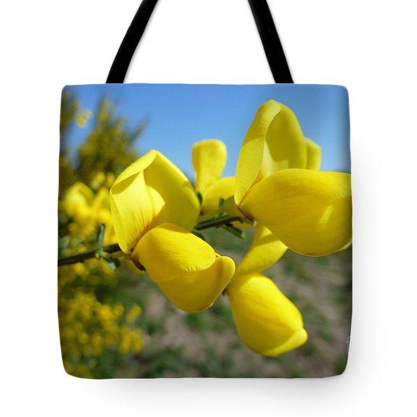 Broom In Bloom 4 Tote Bag