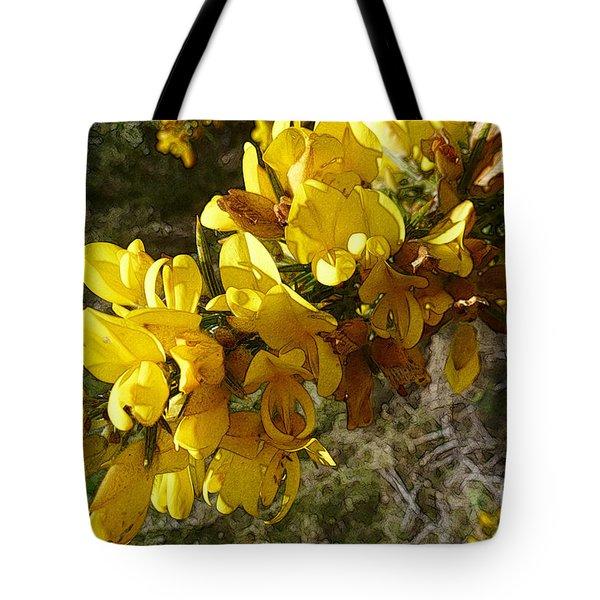 Broom In Bloom Tote Bag