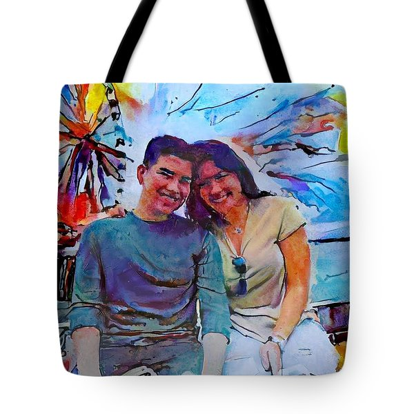 Brother And Sister Love Tote Bag