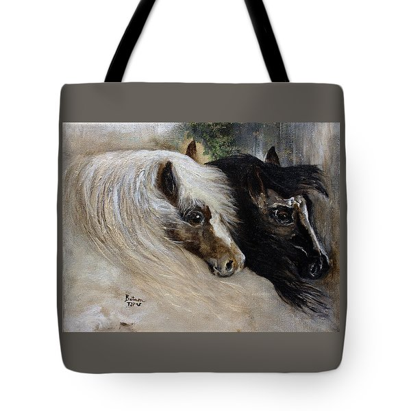 Brothers Tote Bag by Barbie Batson