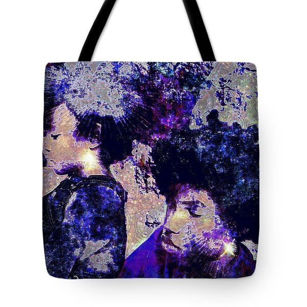 Brothers Blue Tote Bag