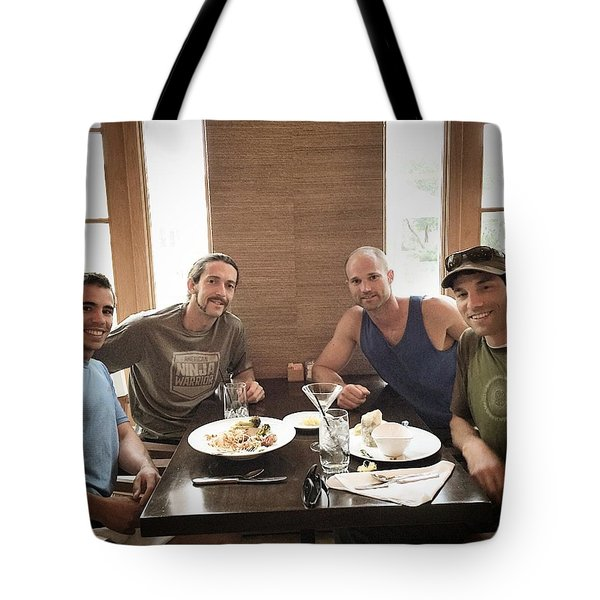Brother Wolves Tote Bag