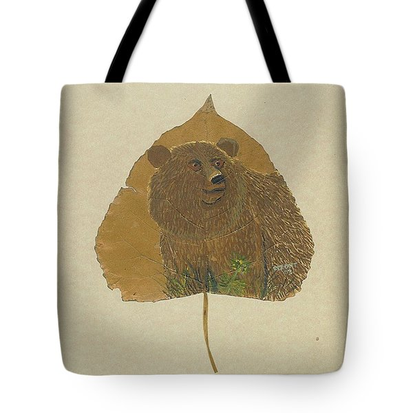 Brow Bear #2 Tote Bag
