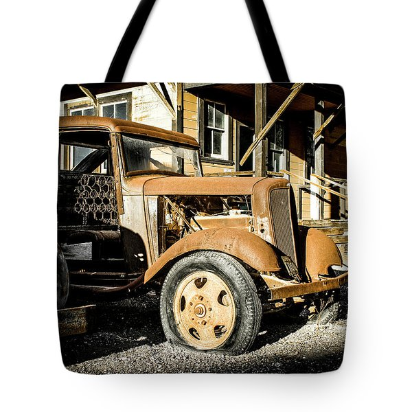 Vintage 1935 Chevrolet Tote Bag