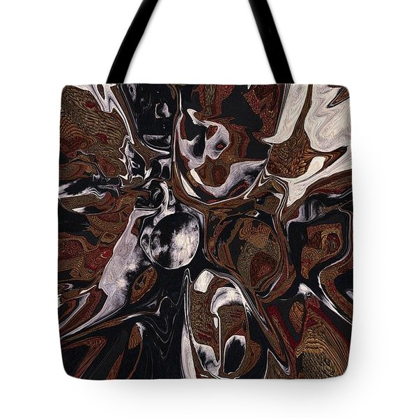 Brown And Black 1 Tote Bag