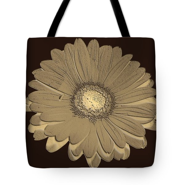 Brown Art Tote Bag by Milena Ilieva