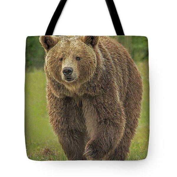 Brown Bear 1 Tote Bag