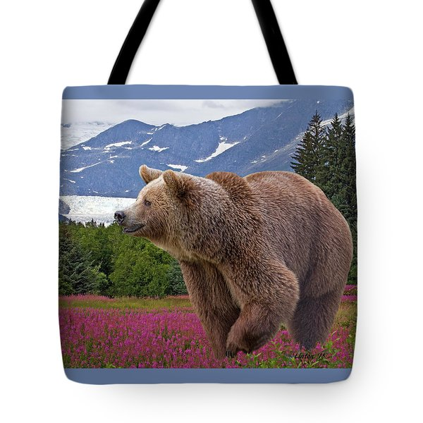 Brown Bear 2 Tote Bag