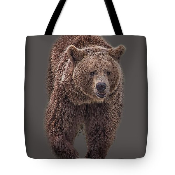 Brown Bear 8   Tote Bag