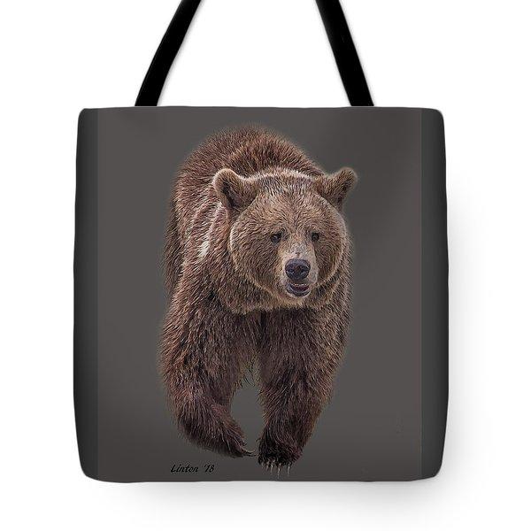 Brown Bear 8   Tote Bag