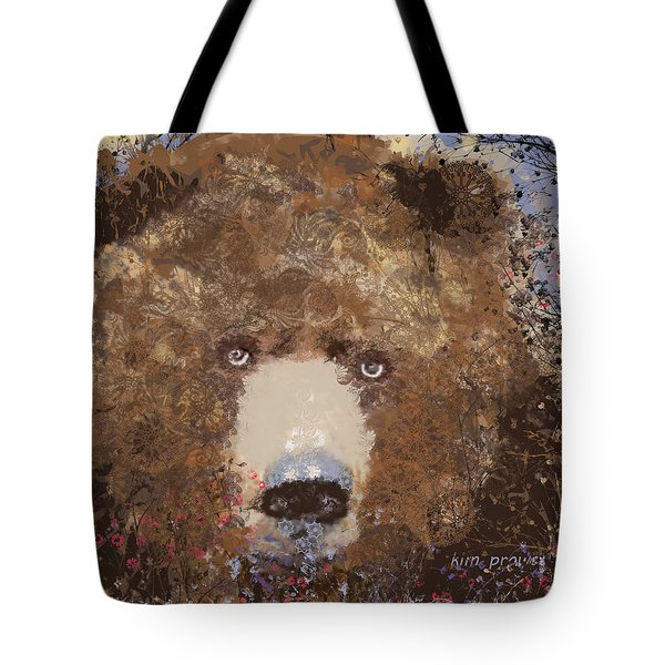 Visionary Bear Final  Tote Bag
