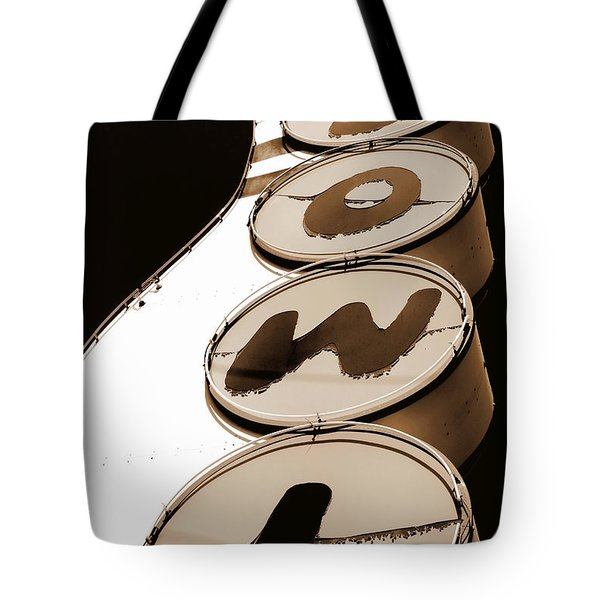 Brown Bowl Tote Bag