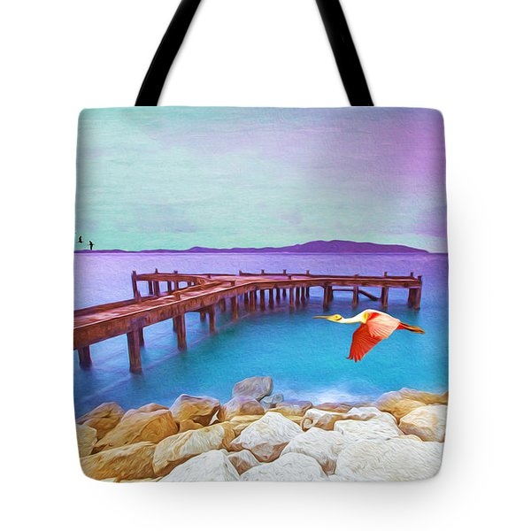 Brown Dock Tote Bag