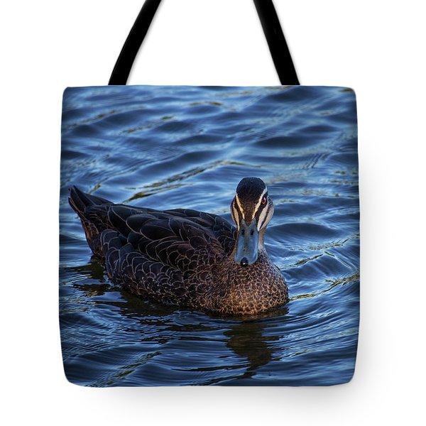 Brown Duck 2 Tote Bag