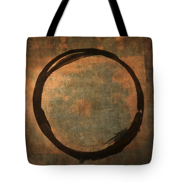 Brown Enso Tote Bag