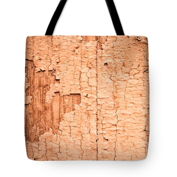 Brown Paint Texture Tote Bag by John Williams