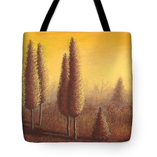 Brown Trees 01 Tote Bag
