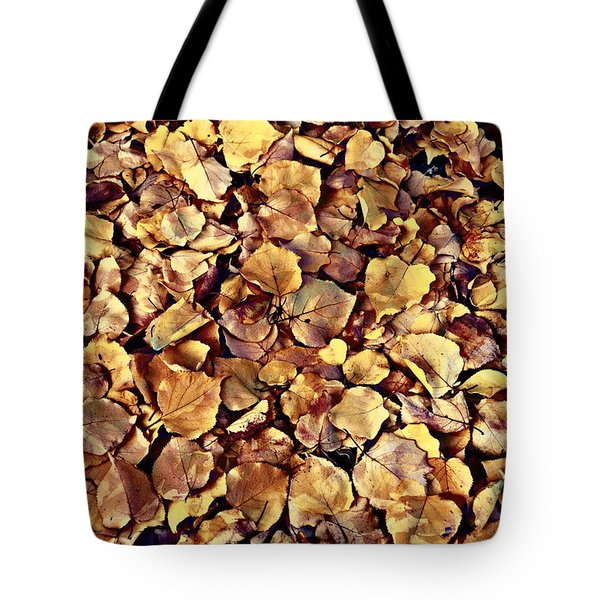 Tote Bag featuring the photograph Browning Leaves by Glenn McCarthy Art and Photography