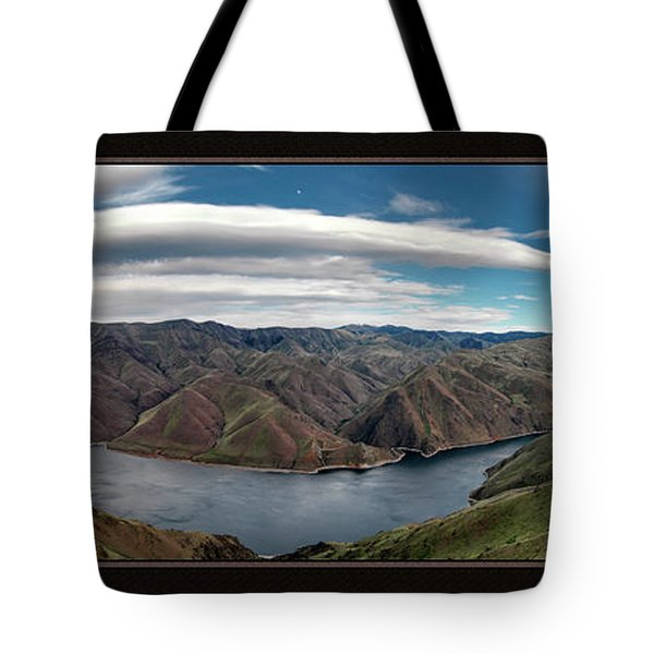 Brownlee Triptych Tote Bag by Leland D Howard