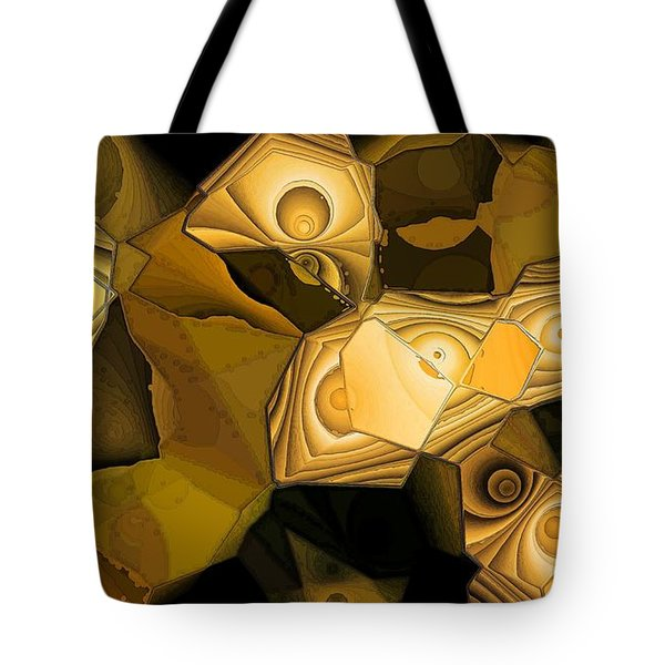 Browns Tote Bag by Ron Bissett