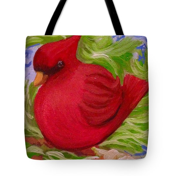 Brrr Bird Tote Bag