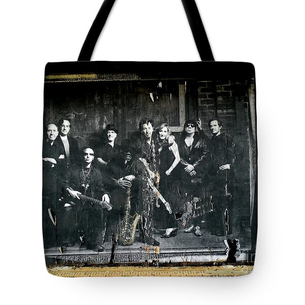 Bruce And The E Street Band Tote Bag