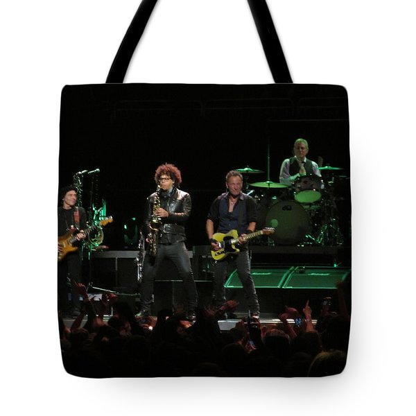 Bruce Springsteen And The E Street Band Tote Bag