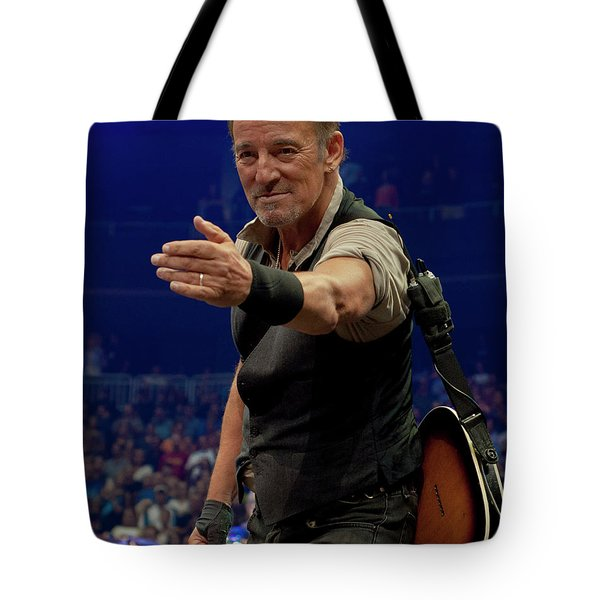 Bruce Springsteen. Pittsburgh, Sept 11, 2016 Tote Bag
